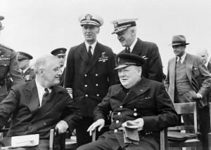 ルーズベルト/チャーチルの洋上会談